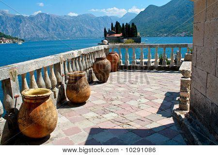 Abbey of St. George (Montenegro, Perast)