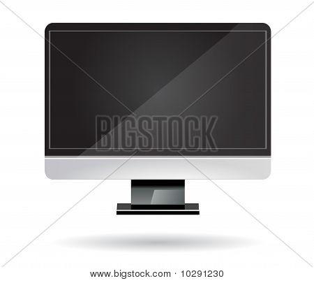 computer desktop screen vector