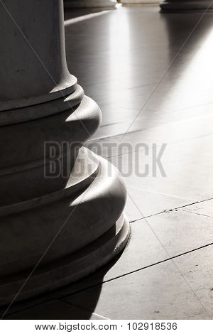 Base of Ionic Columns