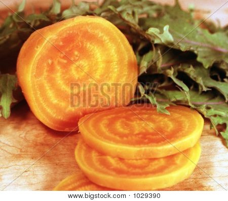 Golden Beets And Kale