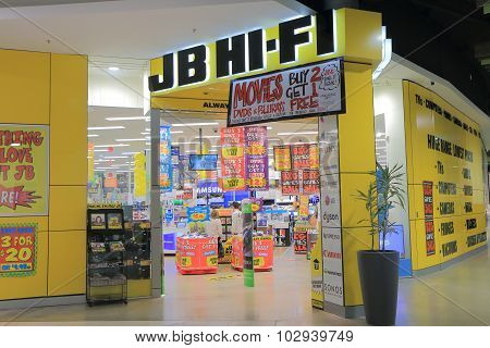 JB HI-FI Electrical appliances shop Australia