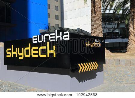 Eureka Skydeck Melbourne Australia