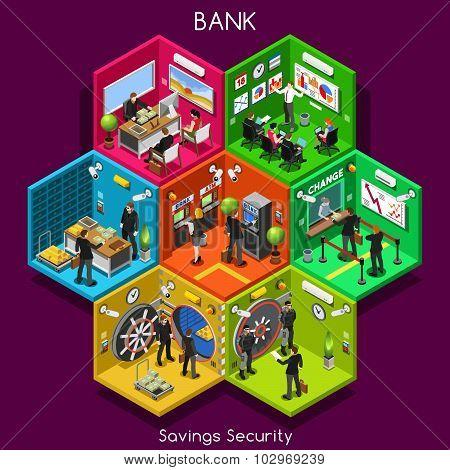 Bank 01 Cells Isometric