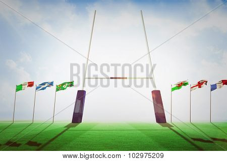 Rugby pitch against rugby pitch