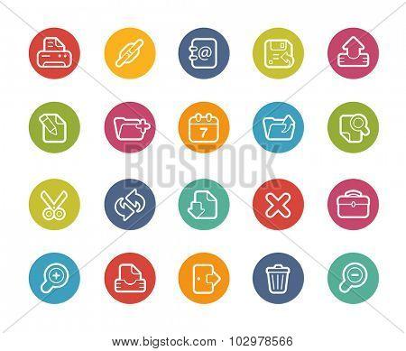 Web Interface Icons // Printemps Series