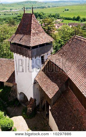 Viscri, Fortified Church In Romania