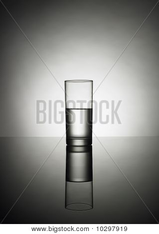 Half Glass Of Water No 2