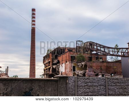 Old Abandon Paperworks In Kalety - Poland, Silesia Province