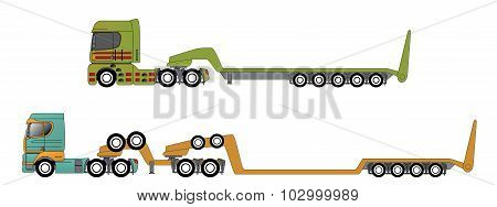 Oversize And Overweight Hauling Trucks