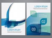 Brochure, annual report, flyer, magazine cover vector template. Modern corporate design. poster