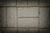 Paving slabs close up as a background poster