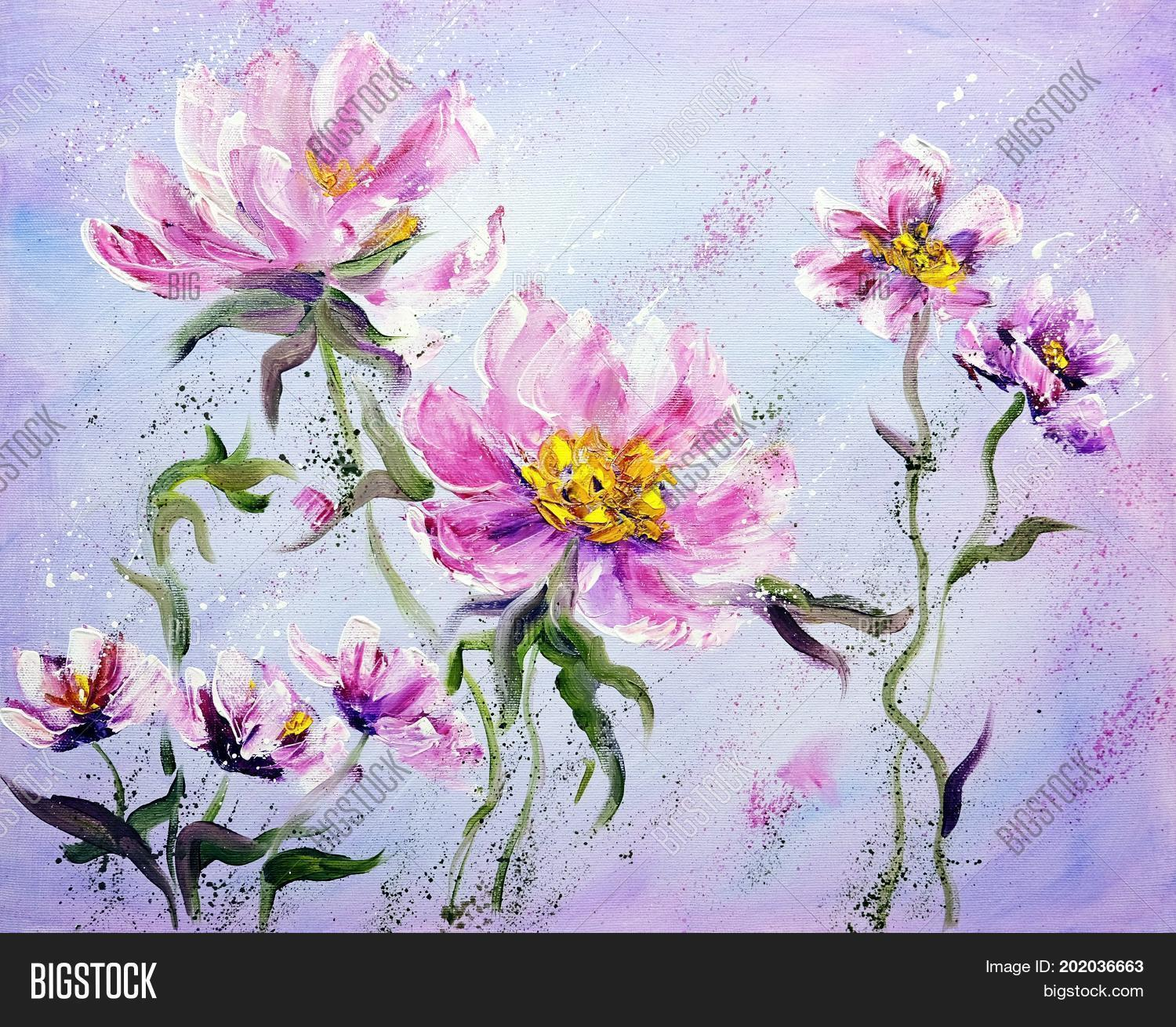 Hand Painted Modern Image Photo Free Trial Bigstock
