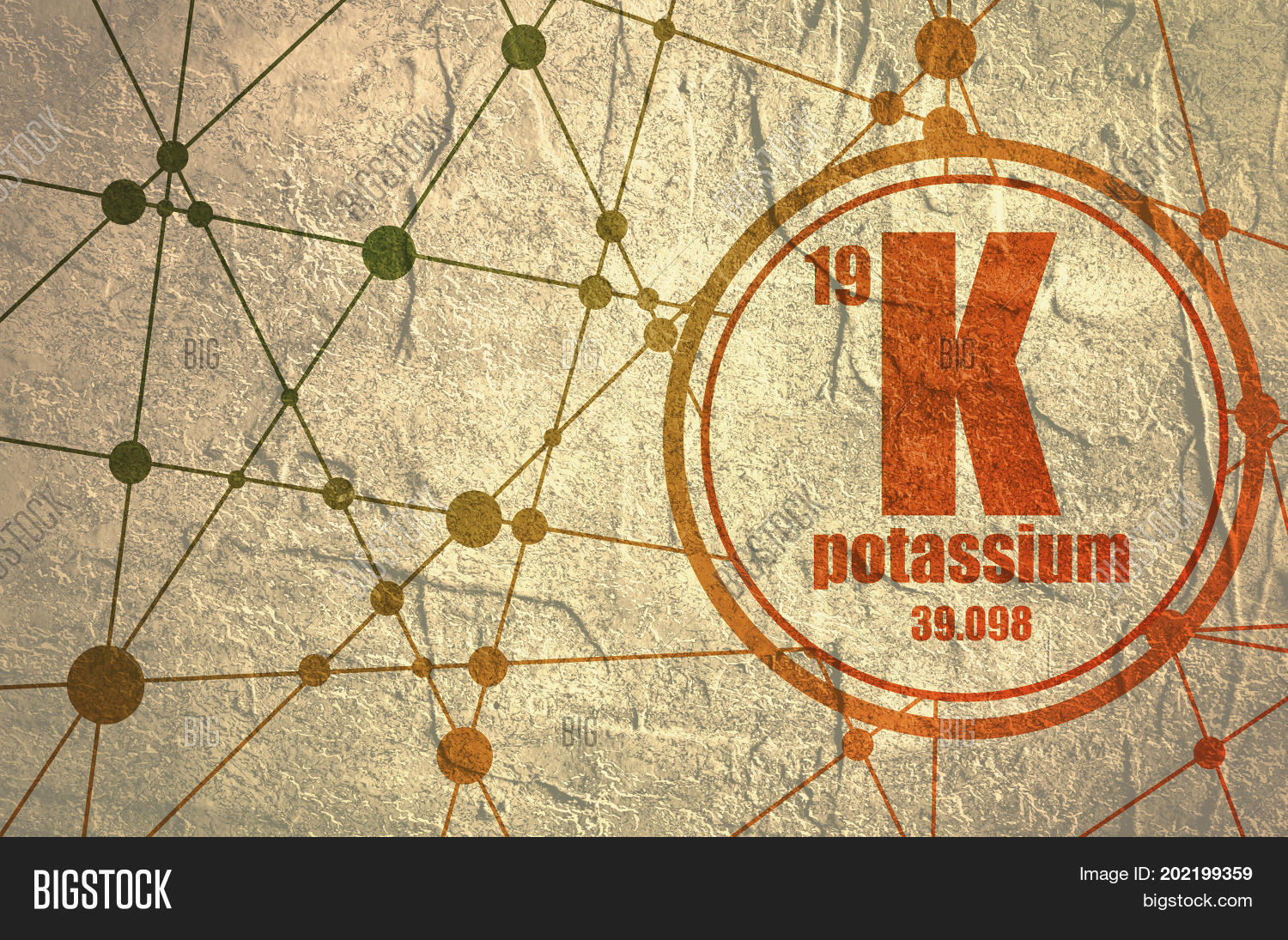Potassium chemical element sign image photo bigstock potassium chemical element sign with atomic number and atomic weight chemical element of periodic urtaz Image collections
