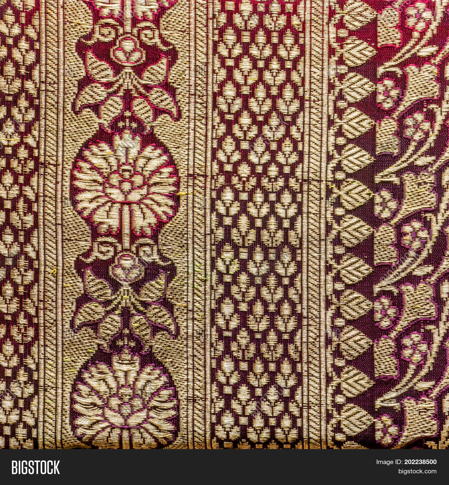 Traditional Indian Fabric Texture Image  for Indian Fabric Designs Patterns  174mzq