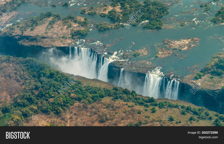 Victoria Falls Drought Image Photo Free Trial Bigstock