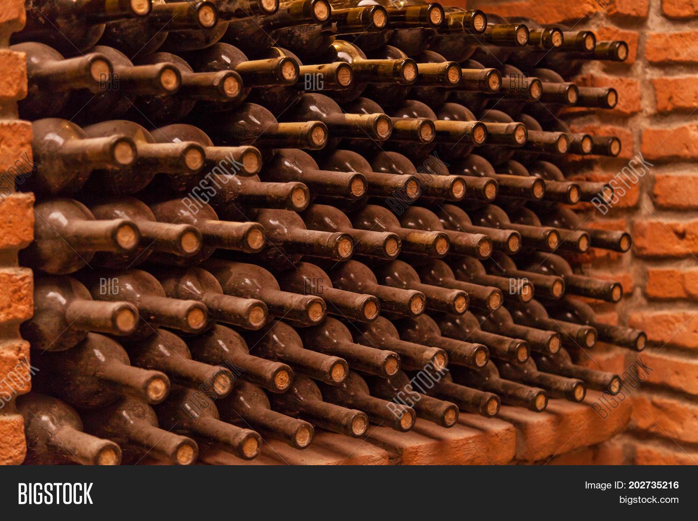 Winy Bottles Lie On Image Photo Free Trial Bigstock