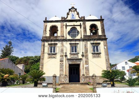 Cathedral of Lajes das Flores, Flores Island, Azores, Portugal, Europe