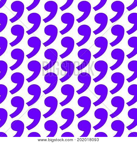 an images of Pattern background comma icon