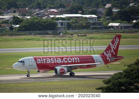 Hs-abs Airbus A320-200 Of Thaiairasia.