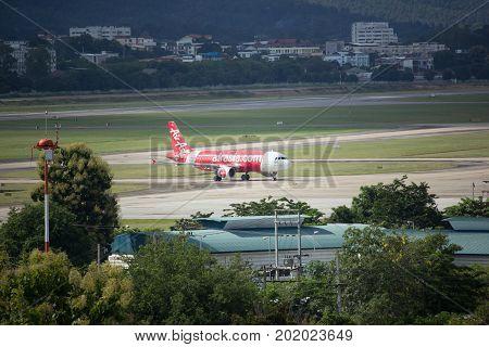 Hs-abo  Airbus A320-200 Of Thaiairasia.