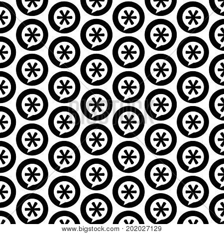 an images of Or pictogram Pattern background Asterisk Footnote sign icon.
