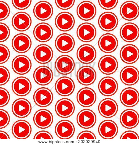 an images of Or pictogram Pattern background play button icon