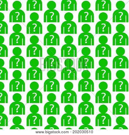 an images of Or pictogram Pattern background why us people icon