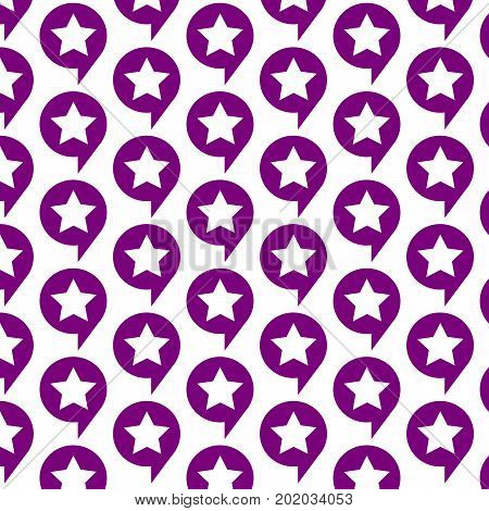 an images of Or pictogram Pattern background Speech Bubble star icon