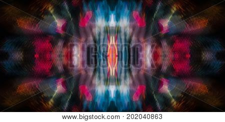 Abstract background. Abstract symmetrical image of multi-colored spots.