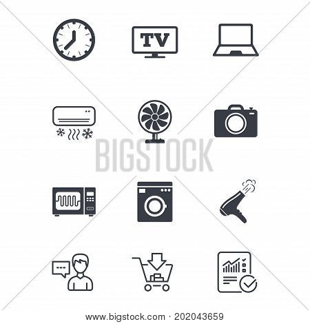 Home Appliances, Device Icons. Vector & Photo | Bigstock