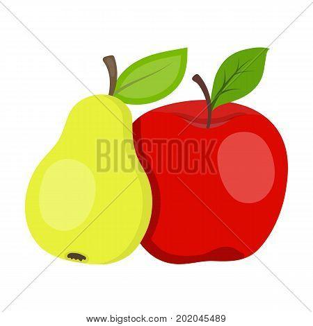 Fruit single icon in cartoon style .Fruit, vector symbol stock illustration .