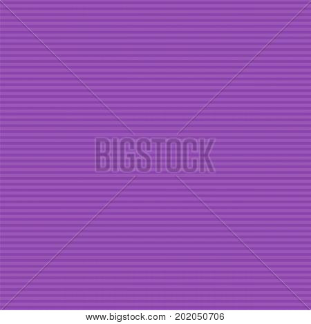 Lilac horizontal stripes pattern. Seamless texture background. Vector illustration.