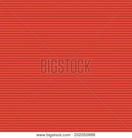 Maroon horizontal stripes pattern. Seamless texture background. Vector illustration.