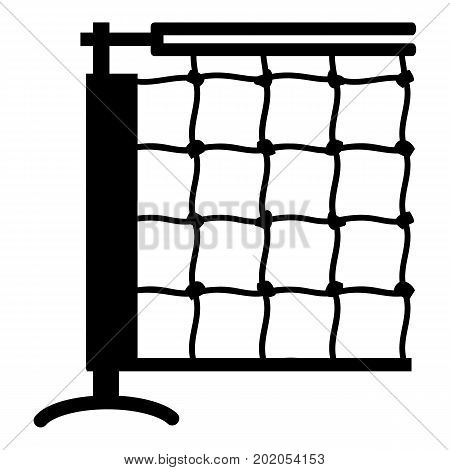 Tennis net icon. Simple illustration of tennis net vector icon for web