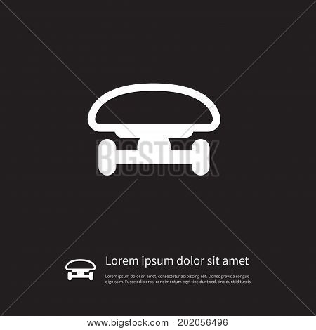 Ride Vector Element Can Be Used For Skate, Skateboard, Ride Design Concept.  Isolated Freestyle Icon.