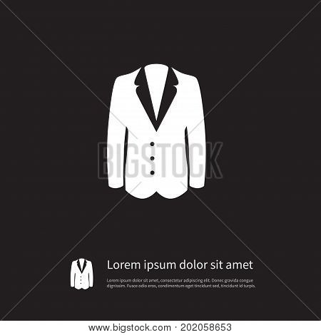 Suit Vector Element Can Be Used For Suit, Jacket, Fur Design Concept.  Isolated Sweater Icon.