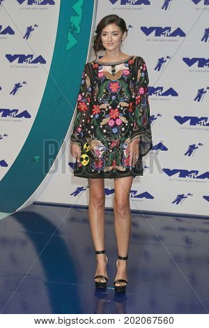 LOS ANGELES - AUG 27:  Caroline DAmore at the MTV Video Music Awards 2017 at The Forum on August 27, 2017 in Inglewood, CA