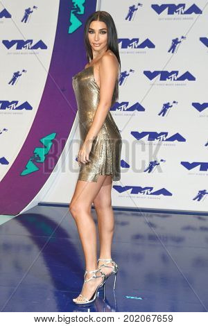 LOS ANGELES - AUG 27:  Chantel Jeffries at the MTV Video Music Awards 2017 at The Forum on August 27, 2017 in Inglewood, CA