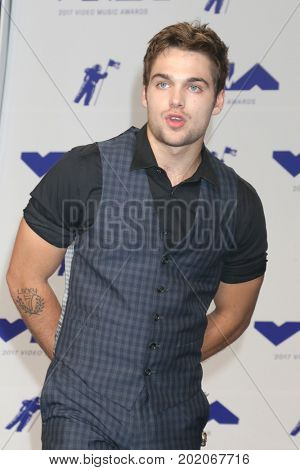 LOS ANGELES - AUG 27:  Dylan Sprayberry at the MTV Video Music Awards 2017 at The Forum on August 27, 2017 in Inglewood, CA