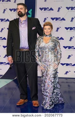 LOS ANGELES - AUG 27:  Guest, Amber Portwood at the MTV Video Music Awards 2017 at The Forum on August 27, 2017 in Inglewood, CA