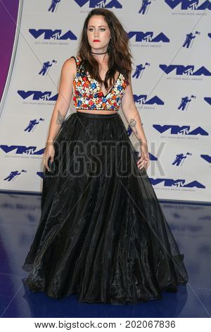 LOS ANGELES - AUG 27:  Jenelle Evans at the MTV Video Music Awards 2017 at The Forum on August 27, 2017 in Inglewood, CA
