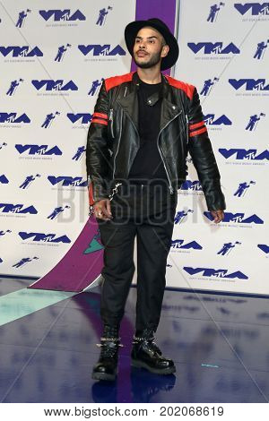 LOS ANGELES - AUG 27:  Hugo Gloss at the MTV Video Music Awards 2017 at The Forum on August 27, 2017 in Inglewood, CA
