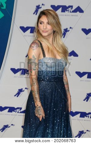 LOS ANGELES - AUG 27:  Julia Michaels at the MTV Video Music Awards 2017 at The Forum on August 27, 2017 in Inglewood, CA