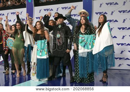 LOS ANGELES - AUG 27:  Taboo, Guests at the MTV Video Music Awards 2017 at The Forum on August 27, 2017 in Inglewood, CA