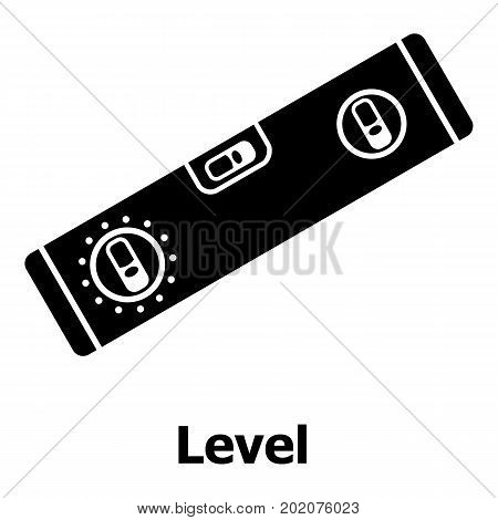 Level icon. Simple illustration of level vector icon for web