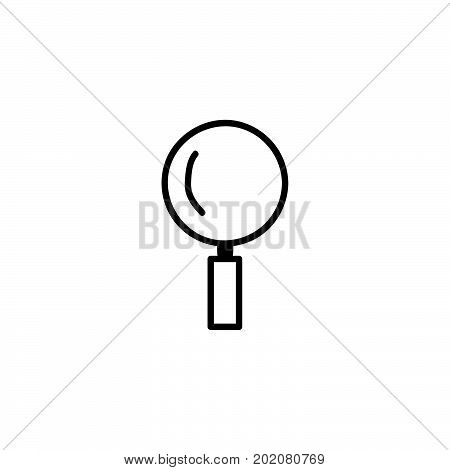 doodle magnifying icon, magnifying vector icon design