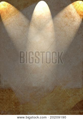light brown and gold background image with interesting lighting