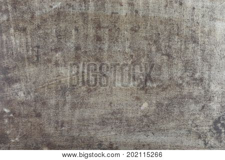 Grungy grey and brown metal background