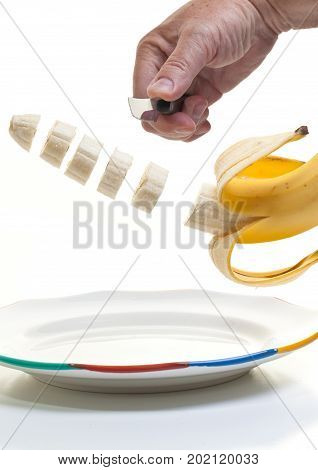 Slicing Up Breakfast