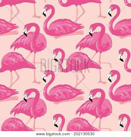 Pinkflamingopattern2.eps